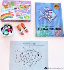 rainbow fish craft kindergarten connection