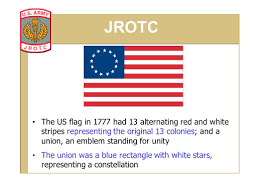 Union Army Flag Stars And Stripes Jrotc State When And Where The First U201cstars And