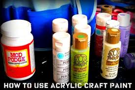 8 tips for how to use acrylic paint mod podge rocks