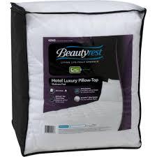 Hotel Luxury Reserve Collection Sheets Beautyrest Hotel Luxury Pillow Top Mattress Pad Walmart Com
