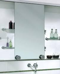 Sliding Bathroom Mirror Bath Barn Door Style Sliding Cabinet Mirrors Remodelista