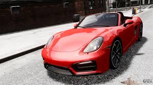 porsche boxster 2016 red porsche boxster gts 2014 for gta 4