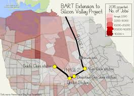 San Jose Map by Small San Jose Community Heartbroken With Promised Bart Station In