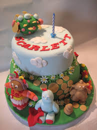 1st birthday cake u2013 in the night garden