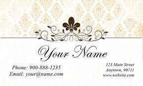 bridal cards bridal business cards gallery business card template