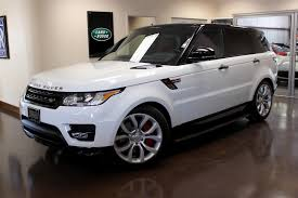 range rover sport white used 2015 land rover range rover sport stock p3030 ultra luxury