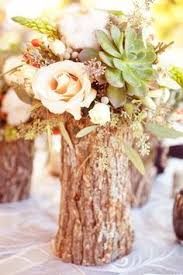 Log Centerpiece Ideas by Rock Lake Ranch Wedding By Half Orange Photography Middle And Water