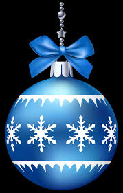 blue ornament transparent background cheminee website