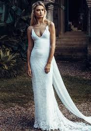 wedding dress grace grace lace lottie wedding dress the knot