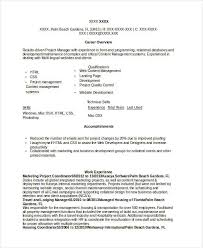 Project Coordinator Resume Examples by Marketing Resume Examples 47 Free Word Pdf Documents Download
