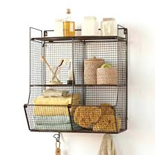 Wall Mount Wire Shelving by Wall Mounted Wire Shelving Garage Bunnings Metal Radiator Shelves
