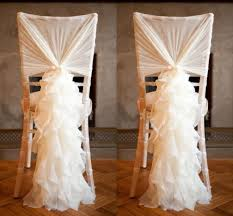 cheap chair sashes chiffon ruffles chair sashes 2015 best selling wedding supplies