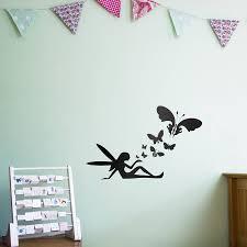 fairy butterflies wall art decal for kids by vinyl revolution fairy butterflies wall art decal for kids