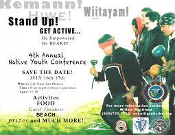 Burial Invitation Card Educational Events Board Listing California Native American