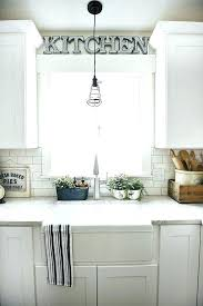 Kitchen Sink Pendant Light Pendant Light Above Kitchen Sink Medium Size Of Island Lighting