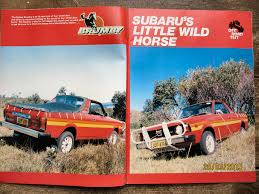 subaru brumby the world u0027s best photos of brumby and truck flickr hive mind