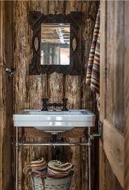 Log Cabin Bathroom Decor by Log Cabin Bathroom Ideas