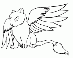 11 pics of cute winged wolf coloring pages wolves coloring pages