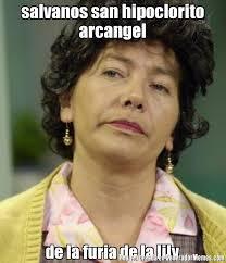 Lily Meme - salvanos san hipoclorito arcangel de la furia de la lily meme de