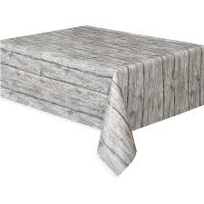 Coffee Table Cover Plastic Rustic Wood Table Cover 108 X 54 Walmart