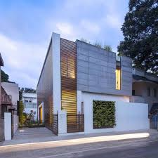 two story badri residence located in jayanagar bangalore and