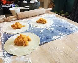 ina garten u0027s sweet potato empanadas from u0027cooking with jeffrey