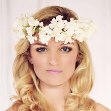 flower hairband blossom flower headband flower headbands bohemian wedding