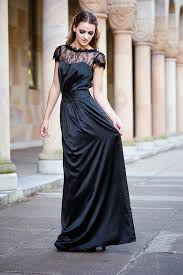 perfect little and long black bridesmaids dresses chic vintage