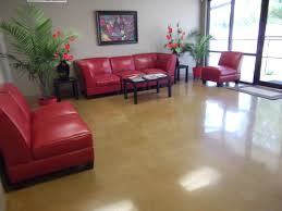 interior design cool interior painted concrete floors room