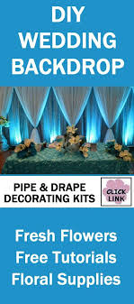 professional wedding backdrop kit best 25 pipe and drape ideas on reception backdrop