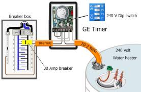 24 hr timer light switch electrical wiring ge to water heater dip switch wiring diagram