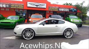 white gold bentley acewhips net slidin the pearl white bentley coupe on 24