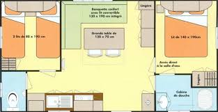 mobil home 4 chambres rental mobile home irm mercure 2 bedrooms 4