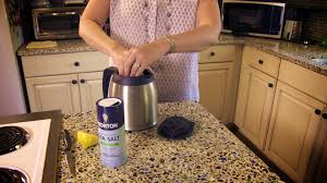 How To Clean The Rug How To Clean A Stained Coffee Pot Without Vinegar Don U0027t Look
