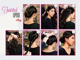 Easy Updo Hairstyles Step By Step by Diy Hairstyles Easy Step By Step Hair Tutorials Twisted Updo