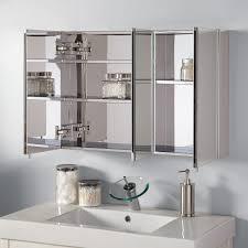 bath room medicine cabinets top 57 splendiferous 3 mirror bathroom cabinet inset small medicine
