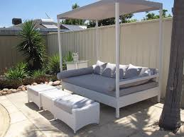outdoor patio daybed with canopy home design ideas