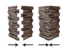 installing wellington column wraps with column caps onto an