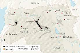 Syria Conflict Map The Decline Of Isis Control Across Iraq And Syria In Maps World