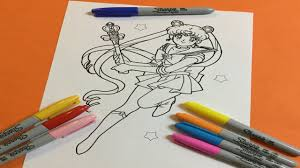 u0027s color sailor moon sailor moon coloring book color 美少女