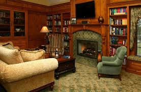 Old World Living Room Furniture old world library traditional living room cleveland by