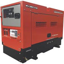 kubota lowboypro gl14000 diesel generator u2014 14 kw model w0314