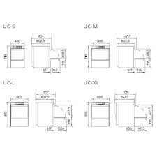 Under Counter Dishwashers Under Counter Dishwasher Uc L