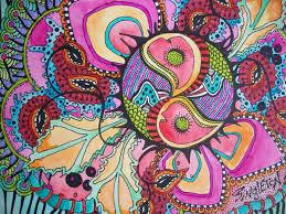 all seeing eye singleton hippie art mandala third eye art