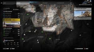 Camping World Locations Map by Ghost Recon Wildlands All Lost Car Locations Tank War Room
