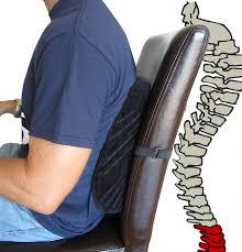 amazon com 1 best memory foam lumbar cushion for lower back