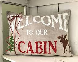 Christmas Moose Home Decor Moose Decor Etsy
