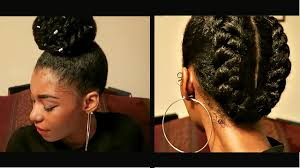 how would you style ear length hair 4 protective natural hairstyles to retain length youtube