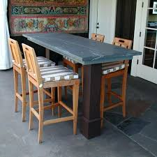 marble top bar table marble top pub table custom bar with marble top design in custom bar