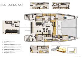 Prevost Floor Plans by Catana59 Catamaran Layout I Want This Catamaran Pinterest